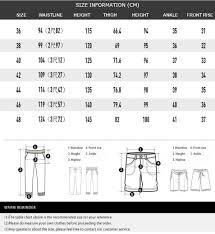 Mens Plus Size Chart Jsmix Mens Plus Size 40 48 Ankle Length Black Long Pants 82jk0304