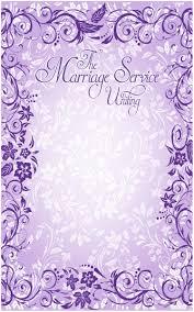 Border Designs For Wedding Programs Wedding Program Cover Template 11b