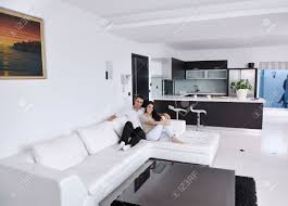 Relaxing Living Room Living Room Gray Benches White Chaise Lounges Gray Sofa White