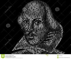 Shakespeare Word Art Quotes Editorial Stock Image Illustration