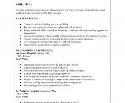 New Graduate Nurse Resume Examples Nursing Objectivee Practitioner