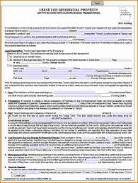 Free Printable Rental Agreement Awesome Rental Agreement Forms Free Printable Lovely 48 Residential Lease