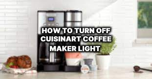 This option simplifies the cleaning process with maximum efficiency. How To Turn Off Clean Light On Cuisinart Cofee Maker Thecozycoffee