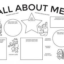 Small Picture About Me Coloring Pages Page All About Pages adult