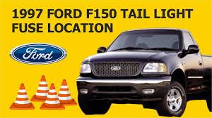 2011 F150 Brake Light Fuse 1997 Ford F150 Tail Light Fuse Location Youtube
