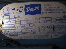 help wiring 1 phase motor to 3 phase magnetic starter canadian Doerr Motor Wiring Diagram click image for larger version name doerr motor jpg views 1 size doerr motor lr22132 wiring diagram