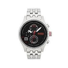 watches for men debenhams boss orange mens amsterdam stainless steel watch