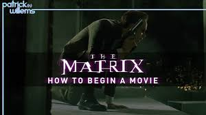 the matrix how to begin a movie video essay  the matrix how to begin a movie video essay