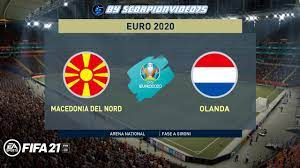 FIFA 21, EURO 2020 • Macedonia del Nord vs Olanda