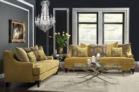 Viscontti SM2201 Sofa in Gold Tone Fabric w Options