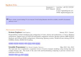 Good Looking Cv Stackoverflow Like Resume Based On Res Cls Tex Latex