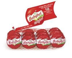 mini babybel original firm ripped cheese