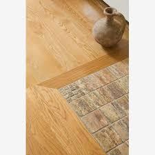 beautiful entryway flooring transition