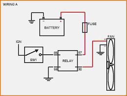 electric fan relay wiring diagram wiring diagram wiring diagram for electric fan at Wiring Diagram Of Electric Fan