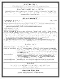 Objective In Resume For Software Engineer Fresher Software Developer Sample Resume Old Version Software Engineer 41