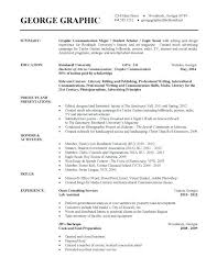 Resume Template For College