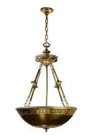fantastic bowl chandelier cast brass bowl chandelier oly pipa bowl chandelier knock off