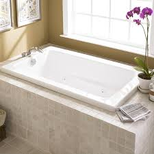 brilliant alcove whirlpool bathtub bathtubs whirlpools and air baths ing guide