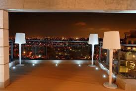 deck floor lighting. balcony light ideas deck contemporary with glass railing floor lighting n