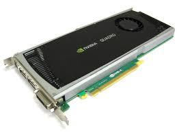 hp nvidia quadro 4000 2gb video card