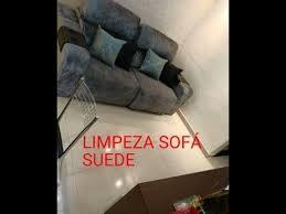 o limpar sofá de suede you