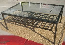 stunning furniture glass coffee table ikea grey dark wooden stained varnished square contemporary exterior large