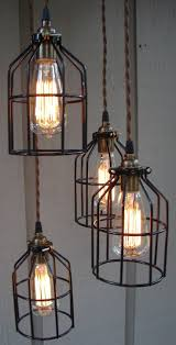 industrial pendants lighting. Full Size Of Pendant Lights Industrial Lighting Pendants Plush Upcycled Edison Bulb Cage Hanging Light For