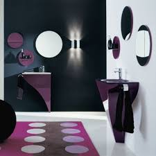 attractive picture of small bathroom with small shower design ideas exquisite modern purple and black