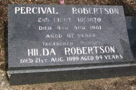 Gisborne District Council - Cemetery Database - Hilda Robertson