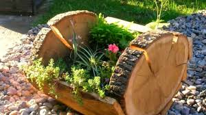 Amazing wooden garden planters ideas try Should Try Youtube Over 50 Wood Flower Pot Ideas 2016 Creative Diy Pot Youtube