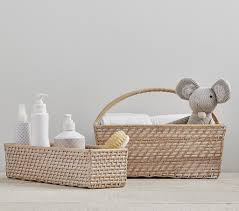 ... Quinn Nursery Storage | Pottery Barn Kids Intended For Diaper Caddy For Changing  Table ...