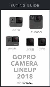 What Gopro Should I Buy Gopro Comparison 2019 Vidpromom