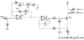 0 1v to 4 20 ma converter by tl082 circuit wiring diagrams 0 1v to 4 20 ma converter by tl082