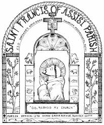 Adult St Francis Coloring Page Coloring Page St Francis Of Assisi