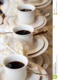 serving coffee stock photos  image