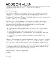 Sample Cover Letter For Office Administrator Resume Administrative ...