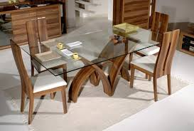 glass dining table set wooden frame glass top dining table dining table with glass top rectangular glass top dining table with wood base