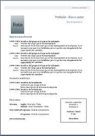Plantilla Curriculum Vitae Para Completar E Imprimir 200
