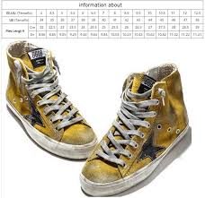 Golden Goose Size Chart Us Cheap Golden Goose Sneakers In Aliexpress