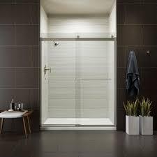 levity 59 in x 74 in frameless sliding shower door