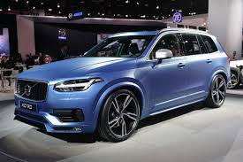volvo new car releaseThe New Volvo XC90 Released at Detroit Motor Show 2015
