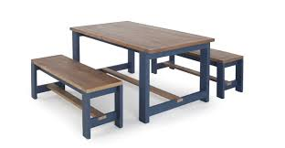 inspiring bala table and bench set solid wood and blue dining table set with bench
