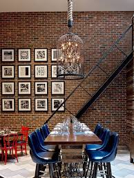 how to hang art on exposed brick walls