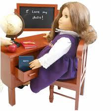 Queen s Treasures 18 in Doll American School Teacher Desk with