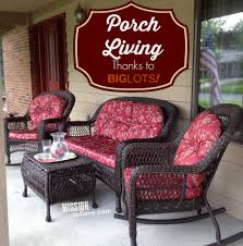 patio chair cushions big lots. loving porch living with patio set from big lots #gobig #gobig! #sponsored - mission: to save chair cushions l
