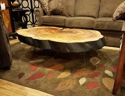picturesque live edge on this black willow round has been burnt heirloom oak coffee table rounded edges ec61bb21ff21694b9c1febc2f8f