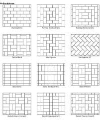 brilliant ideas design for brick patio patterns 17 best ideas about paver designs on brick path brick