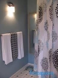 white shower curtain bathroom. Black And White Monogrammed Shower Curtain 1 Bathroom I