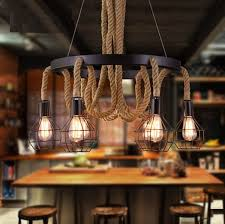 Interior industrial lighting vanity vessel Yhome Retro Loft Style Hemp Rope Droplight Edison Pendant Light Fixtures Vintage Industrial Lighting For Dining Room Hanging Lampin Pendant Lights From Lights Decoist Retro Loft Style Hemp Rope Droplight Edison Pendant Light Fixtures