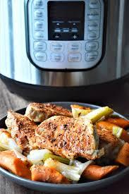 frozen pork chops instant pot